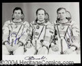 Autographs, Soyuz TM-15 Crew Signed Photograph