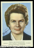 Autographs, Valentina Tereshkova Signed Photograph