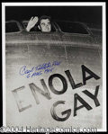 Autographs, Paul Tibbets (Enola Gay) Signed Photo