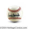 Autographs, Donald Trump Signed Baseball