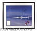 Autographs, Voyager Crew Signed 16 x 20 Photograph