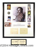 Autographs, H.G. Wells Good Content Signed Note