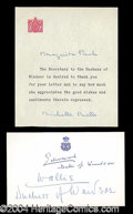 Autographs, The Duke & Duchess of Windsor Signature Card