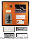 Autographs, X-15 Flight Crew Signature Display