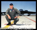 Autographs, Chuck Yeager Signed 8 x 10 Photograph