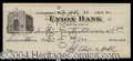 Autographs, Sgt. Alvin York Signed Bank Check
