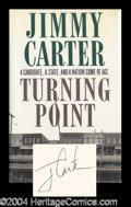 Autographs, Jimmy Carter Signed First Edition Book