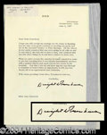 Autographs, Dwight Eisenhower TLS to Joan Crawford