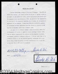 Autographs, Gerald Ford Rare Signed Document