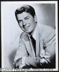 Autographs, Ronald Reagan Signed 8 x 10 Photograph