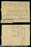 Autographs, Martin Van Buren Signed Document