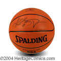 Autographs, Kobe Bryant Rare Full Name Signed Basketball