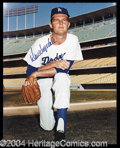 Autographs, Don Drysdale Signed 8 x 10 Photograph