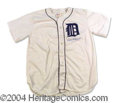 Autographs, Charles Gehringer Signed Tigers Jersey