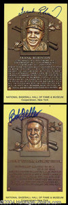 Autographs, Lot of 10 Signed Hall of Fame Postcards