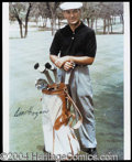 Autographs, Ben Hogan Signed 8 x 10 Photograph