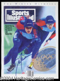 Autographs, Dan Jansen Signed Sports Ilustrated