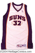 Autographs, Jason Kidd Game Used Suns Jersey