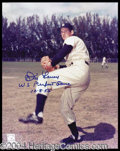 Autographs, Don Larson Signed 8 x 10 Photograph