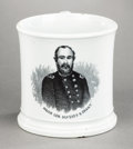 Political:3D & Other Display (pre-1896), Ulysses S. Grant: Unusual Smaller Size Civil War-Period Mug...