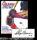 Autographs, LeRoy Neiman Signed First Edition Book