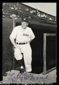 Autographs, Lefty O' Doul Vintage Signed Photograph