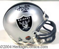 Autographs, Jim Otto (Raiders) Signed Mini Helmet