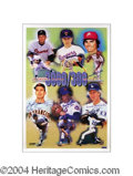 Autographs, The 3000/300 Club Signed Limited Ed. Print