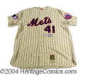 Autographs, Tom Seaver Signed NY Mets M&N Jersey