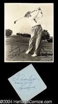 Autographs, Sam Snead Vintage Ink Signature