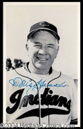 Autographs, Tris Speaker Signed Vintage Photo