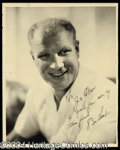 Autographs, Bill Veeck Vintage Signed Photo