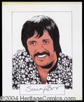 Autographs, Sonny Bono Signed Original Artwork