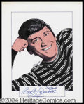 Autographs, Bob Denver Signed Original Artwork
