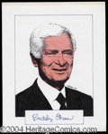Autographs, Buddy Ebsen Signed Original Artwork