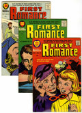 Silver Age (1956-1969):Romance, First Romance #49-52 File Copy Group (Harvey, 1957-58) Condition:Average VF+.... (Total: 4 Comic Books)