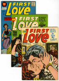 Golden Age (1938-1955):Romance, First Love Illustrated - File Copy Group (Harvey, 1954-63)Condition: Average VF/NM.... (Total: 13 Comic Books)