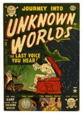 Golden Age (1938-1955):Horror, Journey Into Unknown Worlds #12 (Atlas, 1952) Condition: FN....
