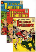 Silver Age (1956-1969):Romance, Hi-School Romance #54-58 File Copy Group (Harvey, 1956) Condition:Average VF+.... (Total: 5 Comic Books)