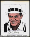 Autographs, Chi Chi Rodriguez Signed Original Artwork