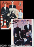 Autographs, The Addams Family