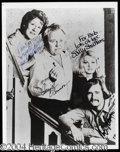 Autographs, All in the Family Cast Signed Photo