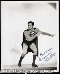 Autographs, Kirk Alyn Superman Signed Photo