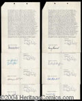 Autographs, American Graffiti: The Document Archive!
