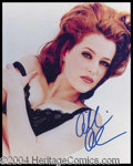 Autographs, Gillian Anderson Signed 8 x 10 Photo