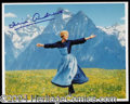 Autographs, Julie Andrews Signed Sound of Music Photo