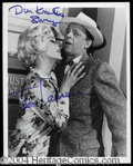 Autographs, Andy Griffith Show Dual Signed Photo