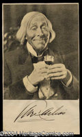 Autographs, George Arliss Signed Photograph