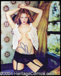 Autographs, Drew Barrymore Signed Photograph