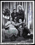 Autographs, Beverly Hillbillies Rare Cast Signed Photo